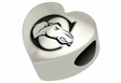 Campbell Camels Heart Shape Bead