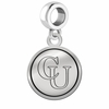 Campbell Fighting Camels Border Round Dangle Charm