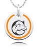 Campbell Fighting Camels Round Enamel Charm