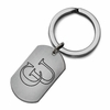 Campbell Fighting Camels Stainless Steel Key Ring
