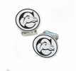 Campbell Fighting Camels Sterling Silver Cufflinks