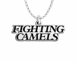 Campbell Fighting Camels Word Mark Charm