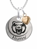 Central Arkansas Bears Alumni Necklace with Heart Accent