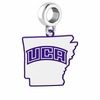 Central Arkansas Bears Logo Dangle Charm
