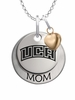 Central Arkansas Bears MOM Necklace with Heart Charm