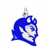 Central Connecticut Blue Devils Logo Charm