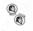 Central Connecticut State Blue Devils Sterling Silver Cufflinks