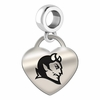 Central Connecticut State Heart Dangle Charm