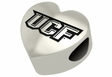 Central Florida Knights Heart Shape Bead