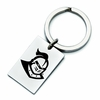 Central Florida Knights Stainless Steel Key Ring