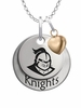 Central Florida Knights with Heart Accent