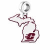 Central Michigan Chippewas Logo Dangle Charm
