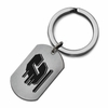 Central Michigan CMU Stainless Steel Key Ring