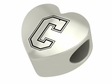 Charleston Cougars Heart Shape Bead