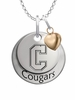Charleston Cougars with Heart Accent