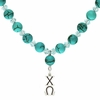 Chi Omega Lavaliere Drop Necklace