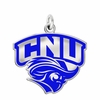 Christopher Newport Captains Logo Charm