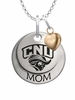 Christopher Newport Captains MOM Necklace with Heart Charm