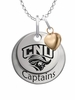 Christopher Newport Captains with Heart Accent
