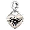 Christopher Newport CNU Heart Dangle Charm