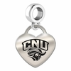 Christopher Newport Captains Heart Dangle Charm