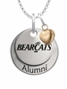 Cincinnati Bearcats Alumni Necklace with Heart Accent