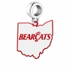 Cincinnati Bearcats Logo Dangle Charm