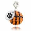 Clemson Tigers Crystal Drop Charm