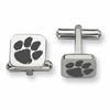 Clemson Tigers Stainless Steel Cufflinks
