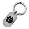 Clemson Tigers Stainless Steel Key Ring