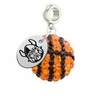 Cleveland State Vikings Crystal Drop Charm