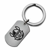 Cleveland State Vikings Stainless Steel Key Ring