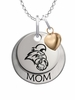 Coastal Carolina Chanticleers MOM Necklace with Heart Charm