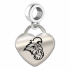 Coastal Carolina Heart Dangle Charm