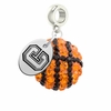 Colgate Raiders Crystal Drop Charm
