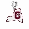 Colgate Raiders Logo Dangle Charm
