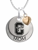 Colgate Raiders MOM Necklace with Heart Charm