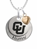 Colorado Buffaloes Alumni Necklace with Heart Accent