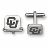 Colorado Buffaloes Stainless Steel Cufflinks
