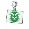 Colorado State Rams Logo Dangle Charm