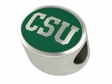 Colorado State Rams Enamel Bead