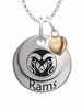 Colorado State Rams with Heart Accent