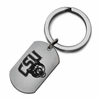 Columbus State Cougars Stainless Steel Key Ring