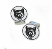 Columbus State Cougars Sterling Silver Cufflinks