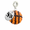 Columbus State Crystal Drop Charm