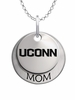 Connecticut Huskies MOM Necklace