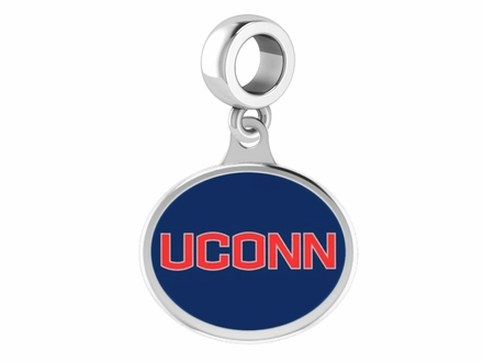 Connecticut Huskies UCONN Silver Drop