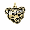 Cornell Big Red 14KT Gold Charm