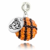Cornell Big Red Crystal Drop Charm
