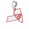 Cornell Big Red Logo Dangle Charm